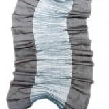 Crêpegewebe - Seide, Wollcrêpe, Kupfer, ca. 0,45 x 1,60 m