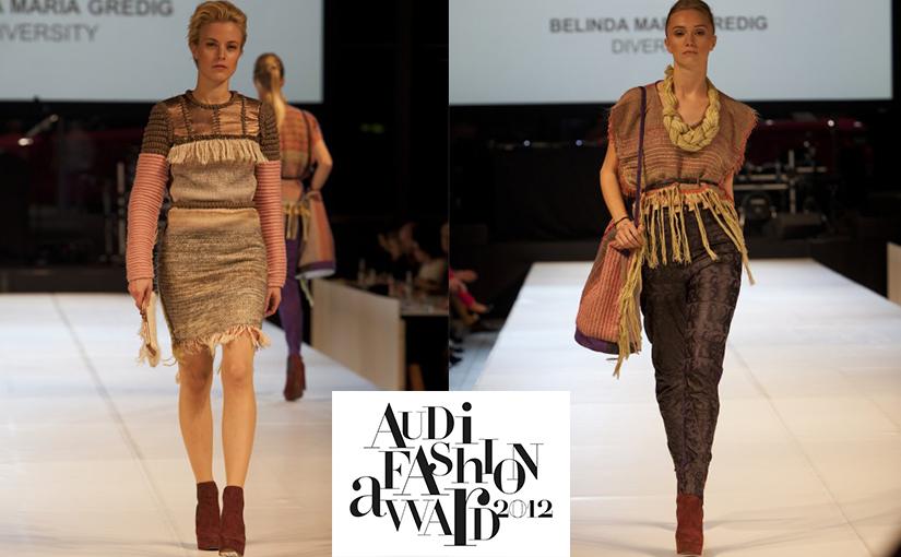 Den ersten Preis beim Audi Fashion Award 2012