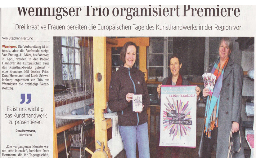 Kreatives Frauen-Trio aus Wennigsen