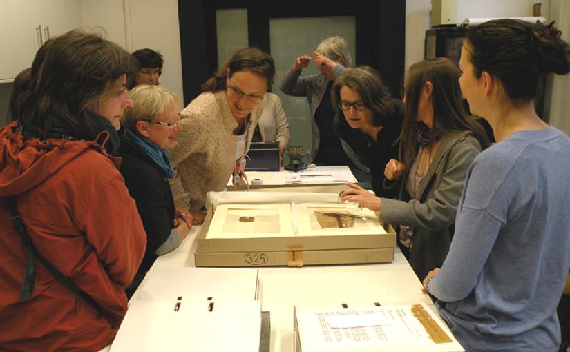 Koptische Textilien im Roemer- und Pelizaeus-Museum