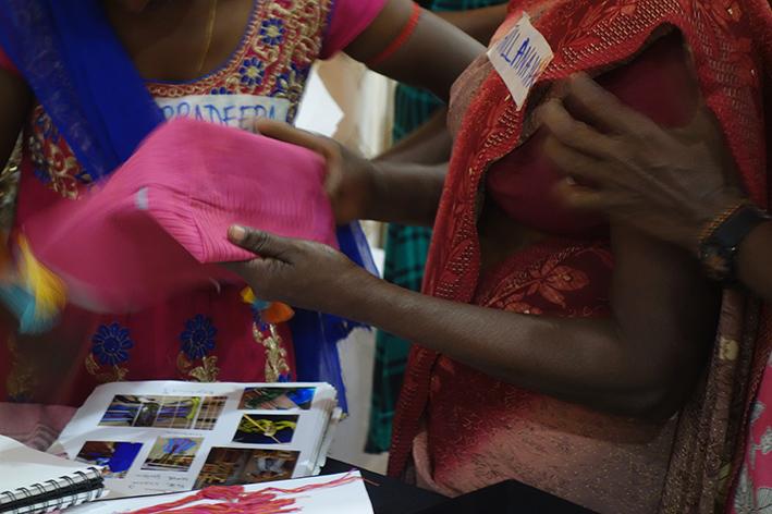 Weaveprojekt Kilinochchi