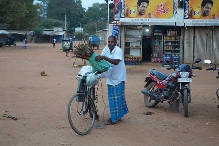 Straßenszene Kilinochchi