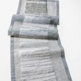 Jacquardgewebe - Leinen/Bio-Baumwolle, Experiment Textillab Tilburg / NL