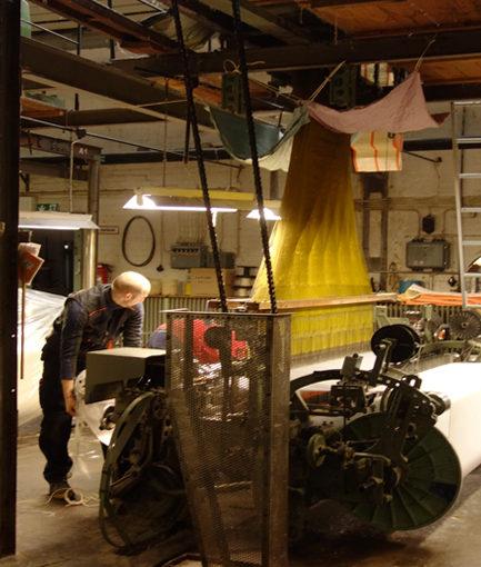 Designkooperation mit Weberei Seegers